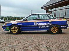 Colin McRae's Subaru Legacy Rally car