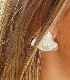 leaf earrings - silver 925 - Mariajóias - Cristina Amaro https://www.facebook.com/Mariajoias-Cristina-Amaro-617451391649626/?ref=bookmarks