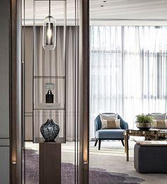 Lobby Interior, Apartment Interior, Interior Design Living Room, Small Office Design, Living Room Partition, Feature Wall Design, Partition Design, Luxury Office, Entrance Design
