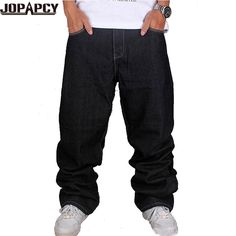 (36.60$)  Know more - http://ai2zy.worlditems.win/all/product.php?id=32498036421 - HOT Jeans Men Fashion Denim Trousers Crotch Big Haren pants Solid Dance Hip Hop Mens Casual Plus Size Masculino Hombre MYA0235