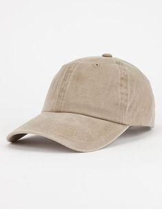 Solid Wash Dad Hat
