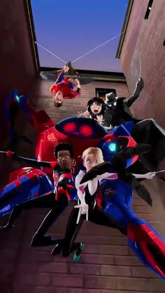 Spider-Man: Into The Spider-Verse Art Spiderman, Amazing Spiderman, Marvel Art, Marvel Avengers, Penny Parker, Miles Morales Spiderman, Arte Dc Comics, Spider Gwen, Spider Verse