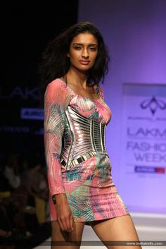 Designer Swapnil Shinde show at Lakme Fashion Week