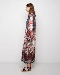 Isabel Marant Étoile   Tilda Printed Dress   La Garçonne