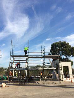 Scaffolding basic @ Sydney Construction Training School.