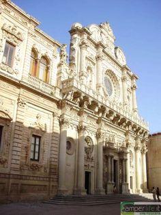 pietra leccese | camper puglia salento lecce basilica santa croce