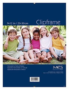 mcs glass clip frame 9 by 12 inch