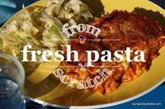 Recipe: making pasta fromscratch