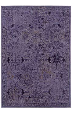 Oriental Weavers Sphinx Sphinx Revival 8023M Purple Rug