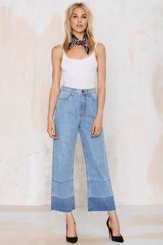 Nasty Gal Denim - The Crop Out | Shop Clothes at Nasty Gal!