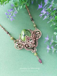 e10914ce2 Uterus Wire Wrapped Necklace, Female Reproductive System Pendant, Feminist  Jewelry, Woven Wire Sacred Womb, Girl Power, Braided Copper