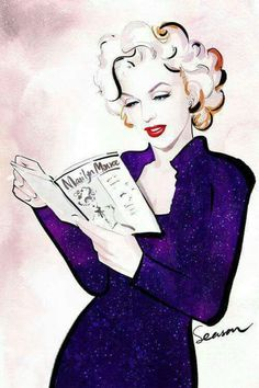 ★ Marilyn Monroe ♡ Old Hollywood ★ Marilyn Monroe Drawing, Marilyn Monroe And Audrey Hepburn, Marilyn Monroe Artwork, Pin Up, Norma Jeane, Drawing People, Old Hollywood, Painting & Drawing, My Idol