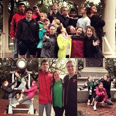 Students have some fun during the 2014 Alternative Spring Break trip in Charleston, South Carolina