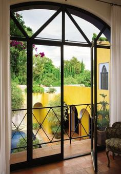 Exotic Outdoor Space and John King in Ajijic, Mexico