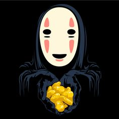 no face, spirited away, and well earned golden nuggest :)