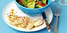 Pouletbrust mit Spinatsalat