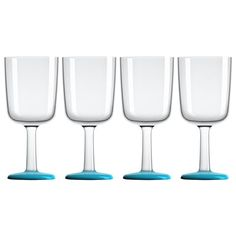 Peter's Of Kensington | Palm - Marc Newson Blue Outdoor Wine Set 4pce