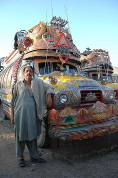 Peshawar, Buses   Flickr - Photo Sharing!