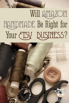 Amazon Handmade is coming. Should you move your Etsy shop?