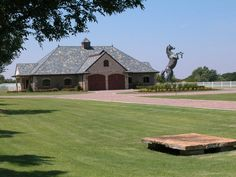 A picture says a thousand words especially about this private horse farm designed by GH2 Equine Architects.
