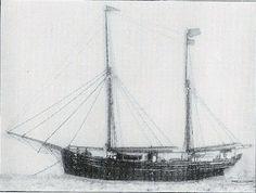 """""""Árabe"""" - Caíque de comércio, de 50 t., ano de 1898."""