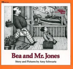 Bea and Mr. Jones (Reading Rainbow Book) by Amy Schwartz, http://www.amazon.com/dp/0689717962/ref=cm_sw_r_pi_dp_kfeVpb14WXGWT