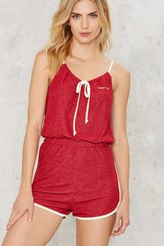 CAMP Collection Dockside Halter Romper