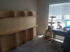 Lori Wall Bed Reviews – Lori Wall Beds Lori Walls, Queen Murphy Bed, Modern Murphy Beds, Birch Ply, Living Spaces, Living Room, Bed Reviews, Wall Beds, Solid Wood Furniture