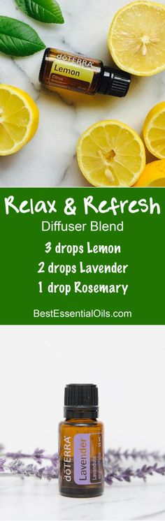 Relax & Refresh doTERRA Diffuser Blend