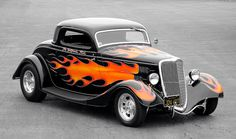 """1934 Ford Three-Window Coupe """"The California Kid"""""""