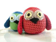* Download Colorful Owl Amigurumi Pattern (FREE)