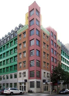 Quartier Schützenstrasse by Aldo Rossi, Schützenstraße / Charlottenstraße, Berlin, 2011
