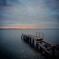 Sunrise at Beaumaris Sea Scouts Jetty, Beaumaris, Melbourne, Victoria, Australia