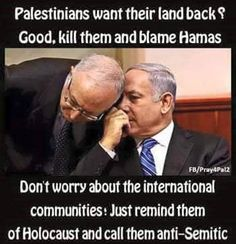 According to the Bible the Palestinian are the modern day philistinians and are going to be exterminated by YAHAWAH ON HIS RETURN Anti Semitic, Israel Palestine, Truth Hurts, Oppression, Revolutionaries, Blame, No Worries, Politics, How Are You Feeling