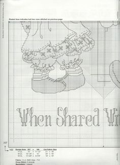Schematic cross stitch Things Are Sweeter 03