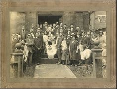 Group Post Mortem Funeral Photo, Early 20th Century - Pinned with Pin Anything from pin4ever.com