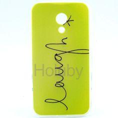 Color Painting IMD Craft TPU Case for Motorola Moto G 2nd gen/ G2/ G+1 Laugh