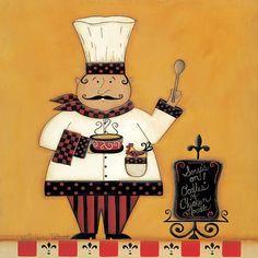 Art deco : Cuisiniers    ( C.T )
