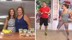 '16 to '16 Challenge'. Joy Bauer's 16-item shopping list and Jenna Wolfe's 16-minute workout routine can help you get fit for the new year.