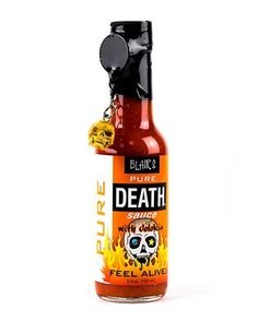 15 Sexy Bottle Packaging Designs From Around The World Blair's Pure Death Hot Sauce