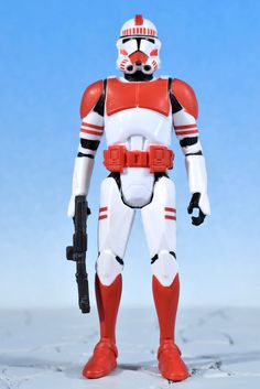 "Star Wars Saga Legends SHOCK TROOPER 3.75"" Action Figure Hasbro 2013 #Hasbro"