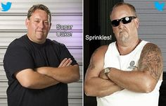 Twitter Wars between Rene Nezhoda and Darrell Sheets from Storage Wars. Storage Auctions, Entertainment Blogs, American Pickers, History Channel, Celebrity Portraits, Reality Tv, Dumb And Dumber, Mens Sunglasses, War