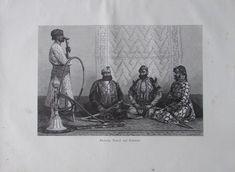 aus 1880 - Radscha Nawab Zemindar Indien - alter Druck Kunstblatt old print