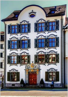 Appenzeller House in Herisau, Canton of Appenzell Ausserrhoden | Switzerland