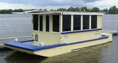 Small Houseboats | Houseboats, Floating Homes & Tiny Houses | Budget Boating:Houseboats ...
