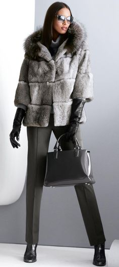 MADELEINE Fur Jacket