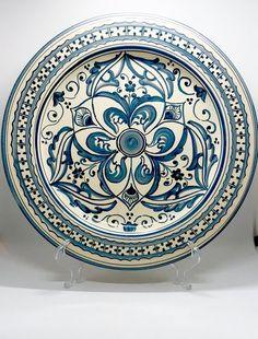 motivo floreale Home Gadgets Saliera in ceramica 14 cm