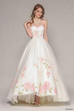 10 vestidos de noiva com detalhes florais