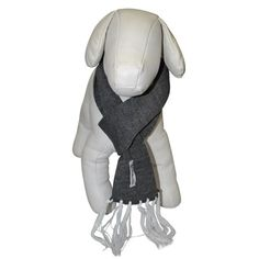 Cachecol para Cachorro Cinza Bichinho Chic - MeuAmigoPet.com.br #petshop #cachorro #cão #meuamigopet