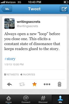 Loops in your story